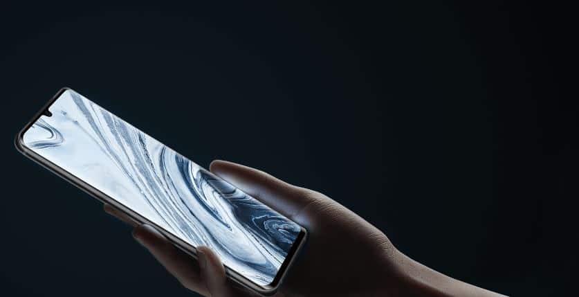 Xiaomi Mi Note 10 via mi com