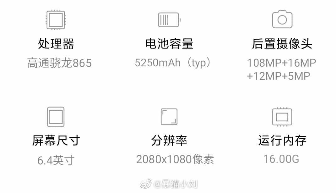 Bocoran terbaru mengungkapkan spesifikasi inti Xiaomi Mi 10 Pro