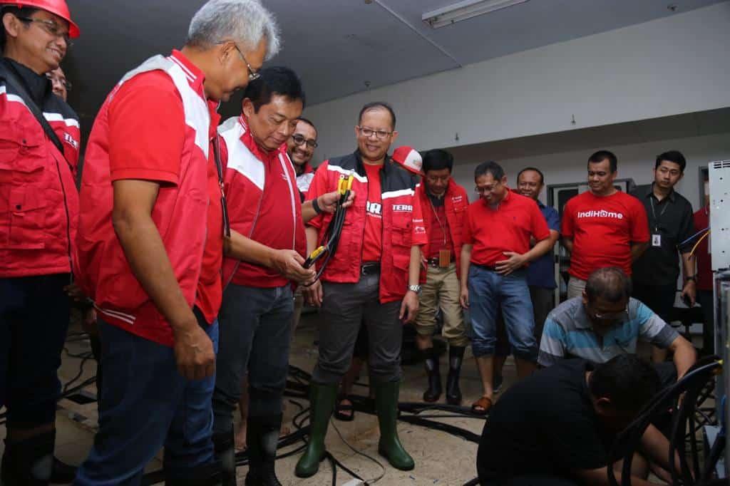 Telkom Siagakan Perangkat Jaringan dan Siapkan Posko Bantuan untuk Masyarakat Yang Terdampak Banjir
