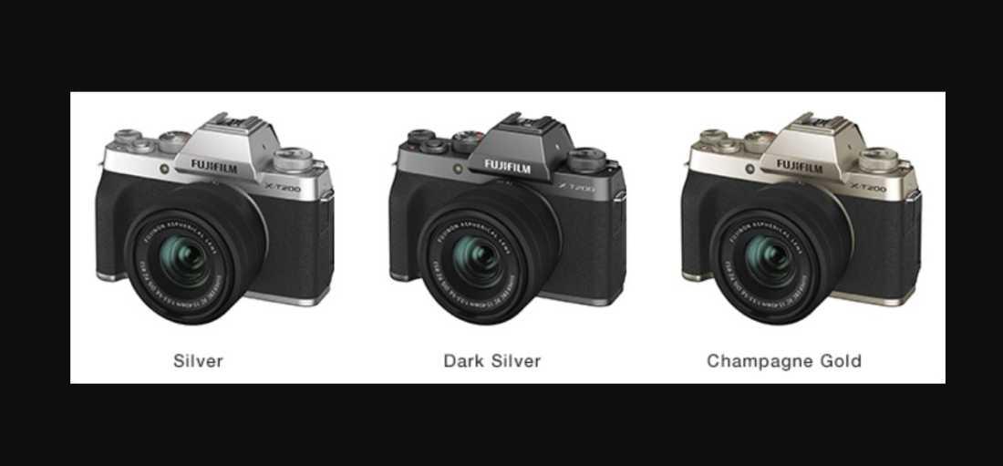 Kamera Mirrorless Terbaru FujiFilm X T200 Resmi Diluncurkan