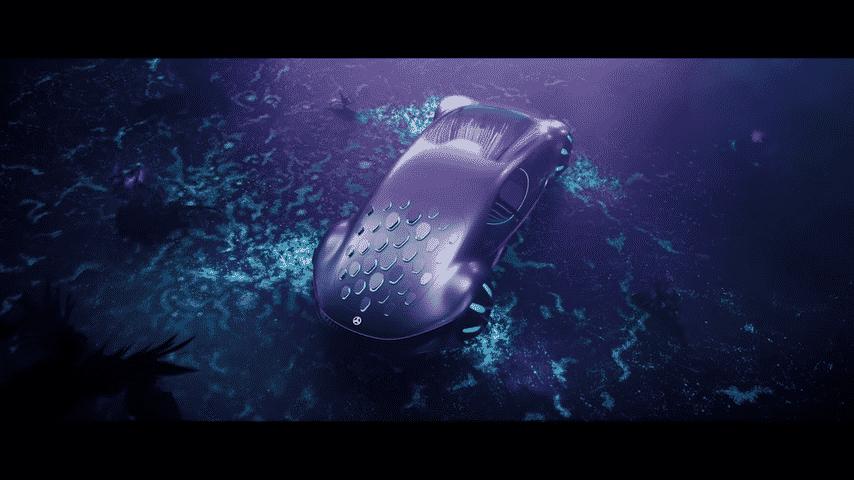 Mobil dengan Konsep Avatar dari Mercedes Benz