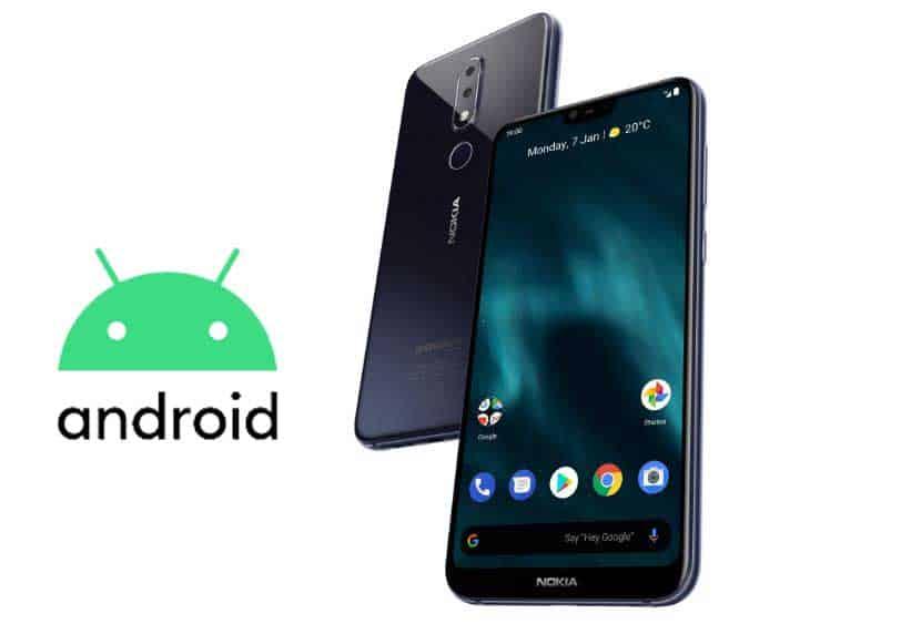 Nokia 6.1 plus android 10