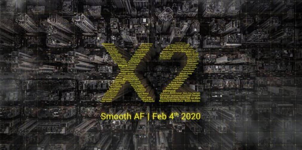 POCO X2 akan diluncurkan 4 Februari di India