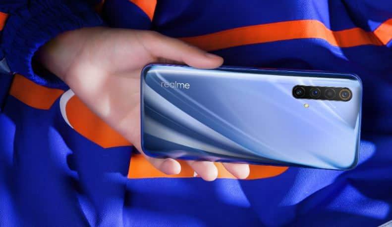 Realme X50 5G desain