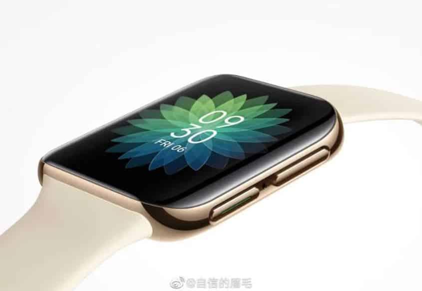 Render Resmi OPPO Smartwatch