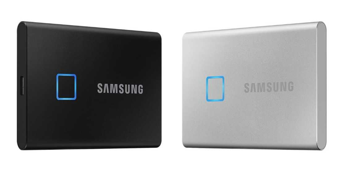 Samsung SSD Portabel terbaru T7 Touch