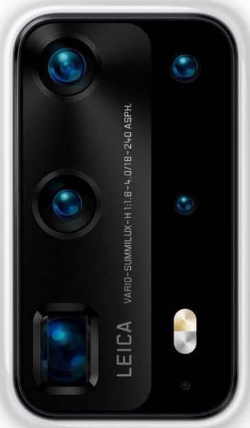 Susunan Kamera P40 Pro edisi premium