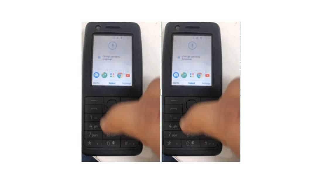 Tampilan dari Nokia 400 4G yang akan segera di rilis