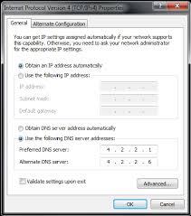 Cara membuka web yang terkena internet positif di PC dengan DNS Google