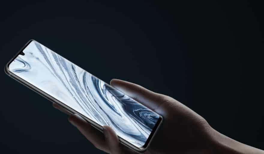Desain Xiaomi Mi Note 10