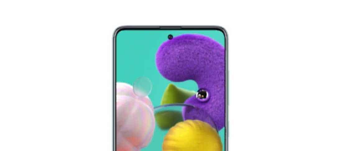 Galaxy A51 yang sudah dirilis di Indonesia