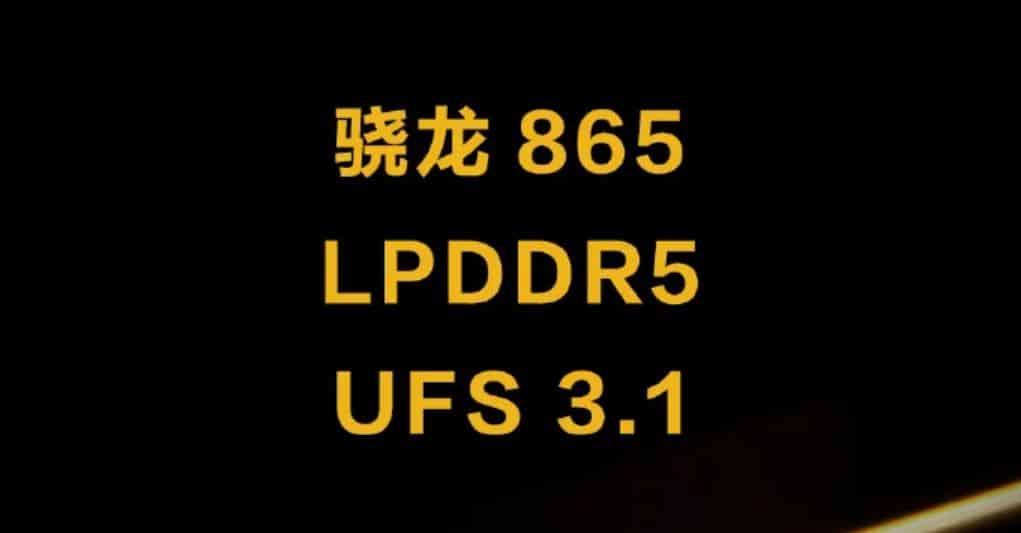 IQOO 3 datang dengan Snapdragon 865 LPDDR5 dan UFS 3.1