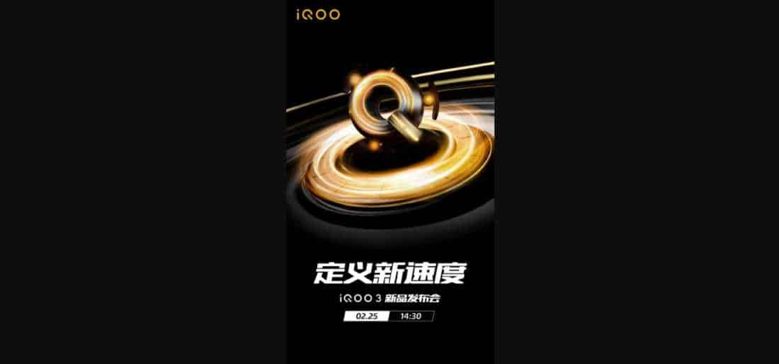 IQOO 3 siap diluncurkan di India 25 Februari