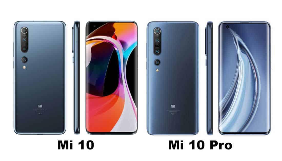Perbandingan Xiaomi Mi 10 vs Mi 10 Pro