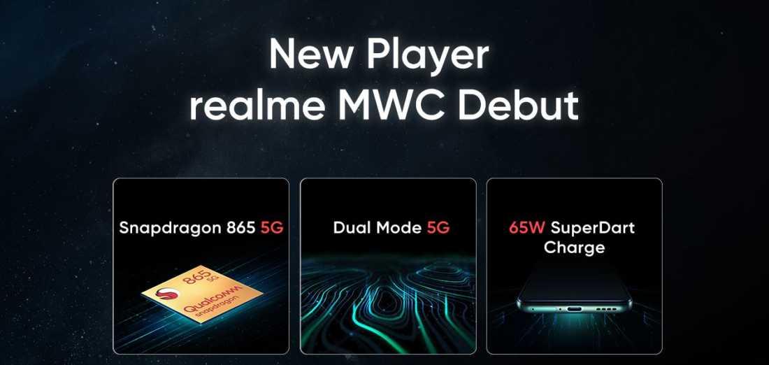 Realme X50 Pro 5G Mendapatkan Pengisian Cepat berdaya 65W