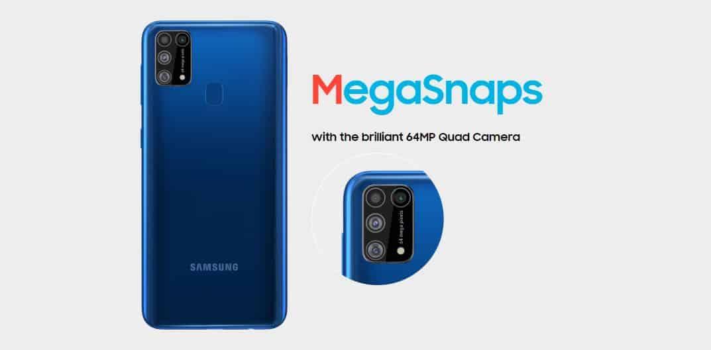 Samsung Galaxy m31 Quad Camera 64MP