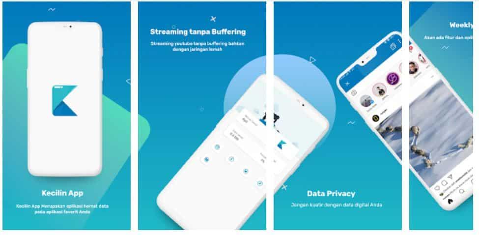 Kecilin App bisa Hemat Kuota Internet Sampai 90 persen