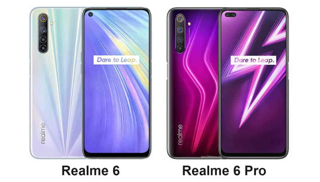 Perbandingan Realme 6 vs Relame 6 Pro