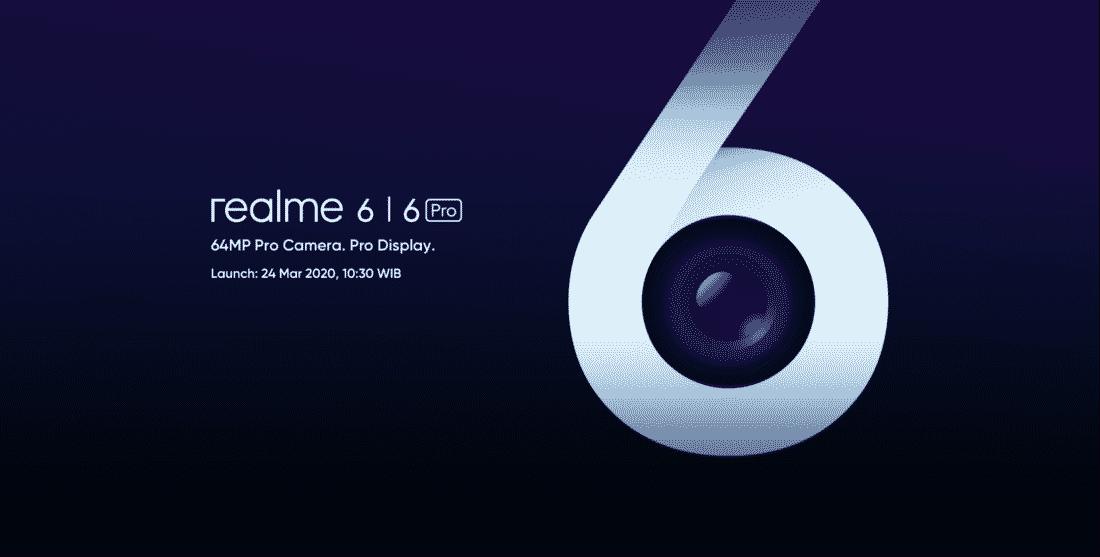 Realme 6 dan Realme 6 Pro akan Hadir di Indonesia 24 Maret 2020
