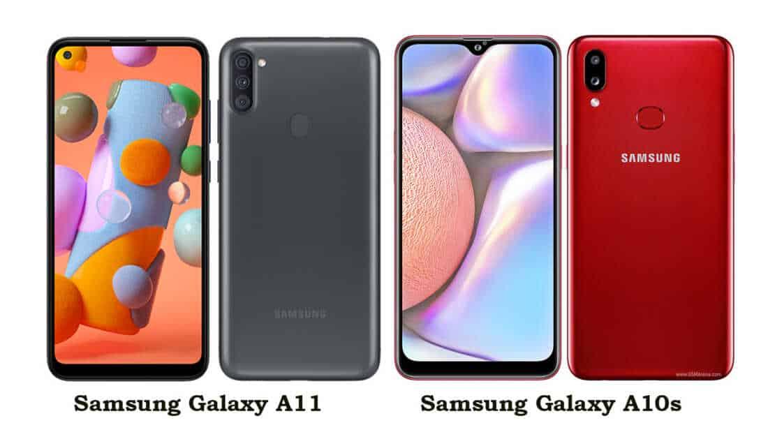 Samsung Galaxy A11 vs Galaxy A10s