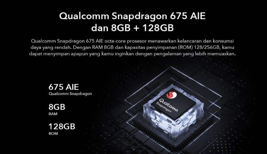 Snapdragon 675 di Vivo V19