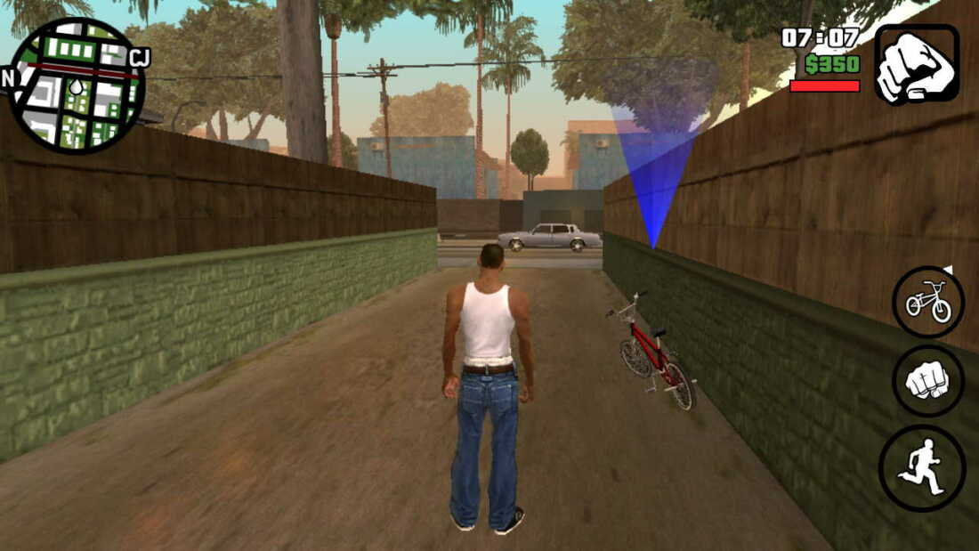 Rahasia 7 Cheat GTA San Andreas Android