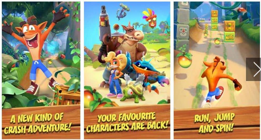 Crash Bandicoot Mobile ApkPure