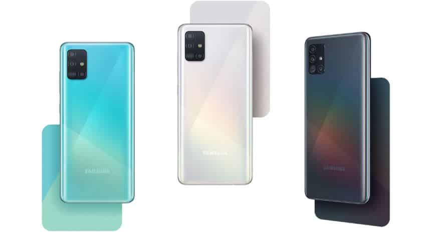 Pilihan warna Samsung Galaxy A51