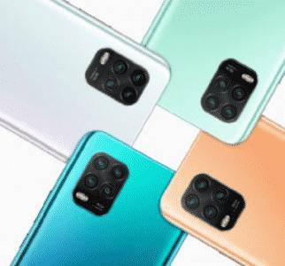 Pilihan warna Xiaomi Mi 10 Youth dengan 50x Zoom