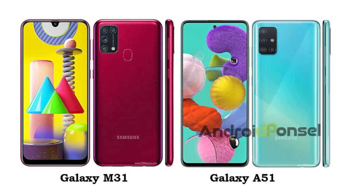 Samsung Galaxy M31 vs Galaxy A51