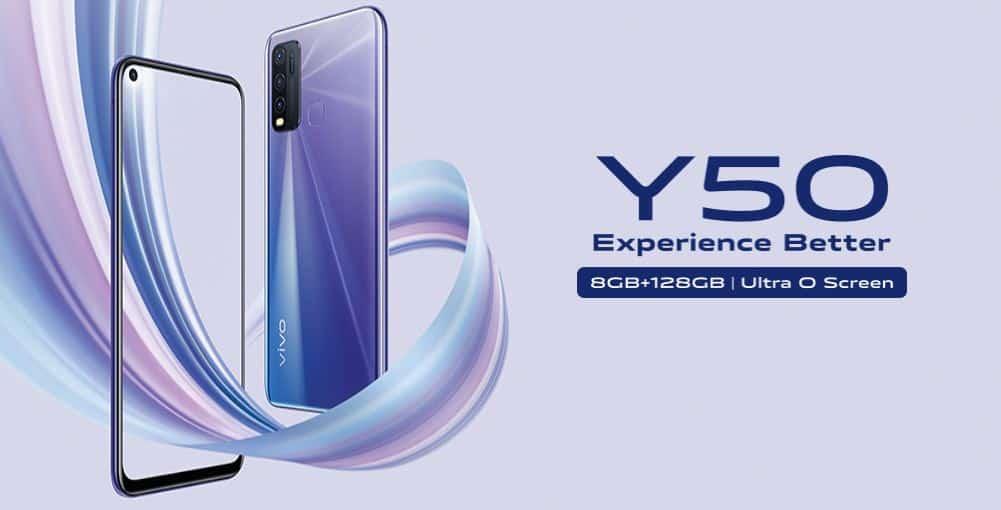 Vivo Y50 resmi hadir di Indonesia harganya 3,6 jutaan