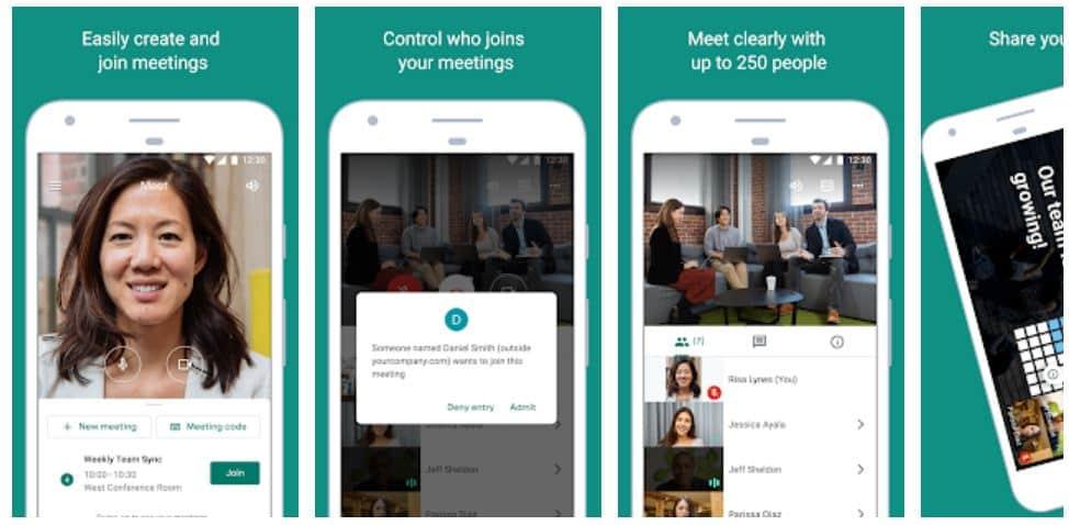 Cara Menggunakan Google Meet dari HP ataupun Laptop