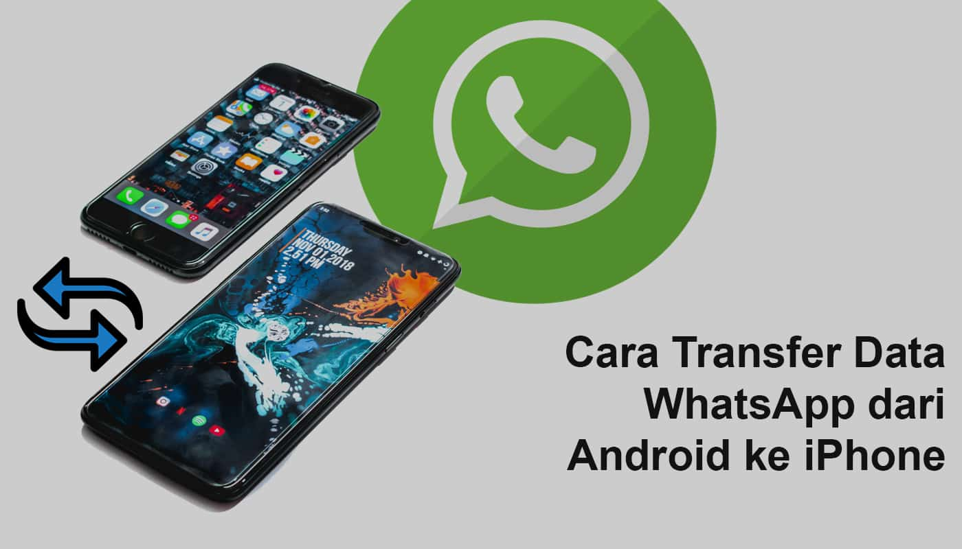 Cara Transfer data WhatsApp dari Android ke iPhone