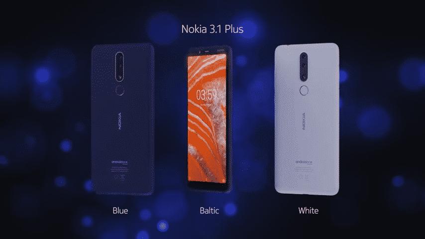 Pembaharuan Android 10 Nokia 3.1 Plus