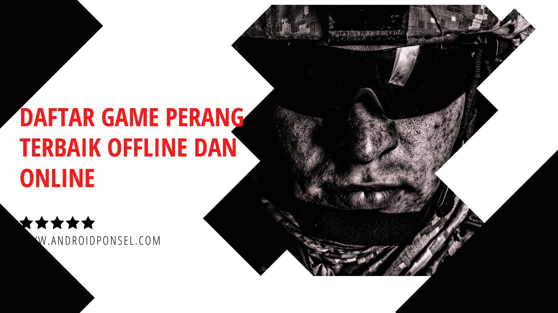 Daftar Game PC Perang Terbaik Offline dan Online