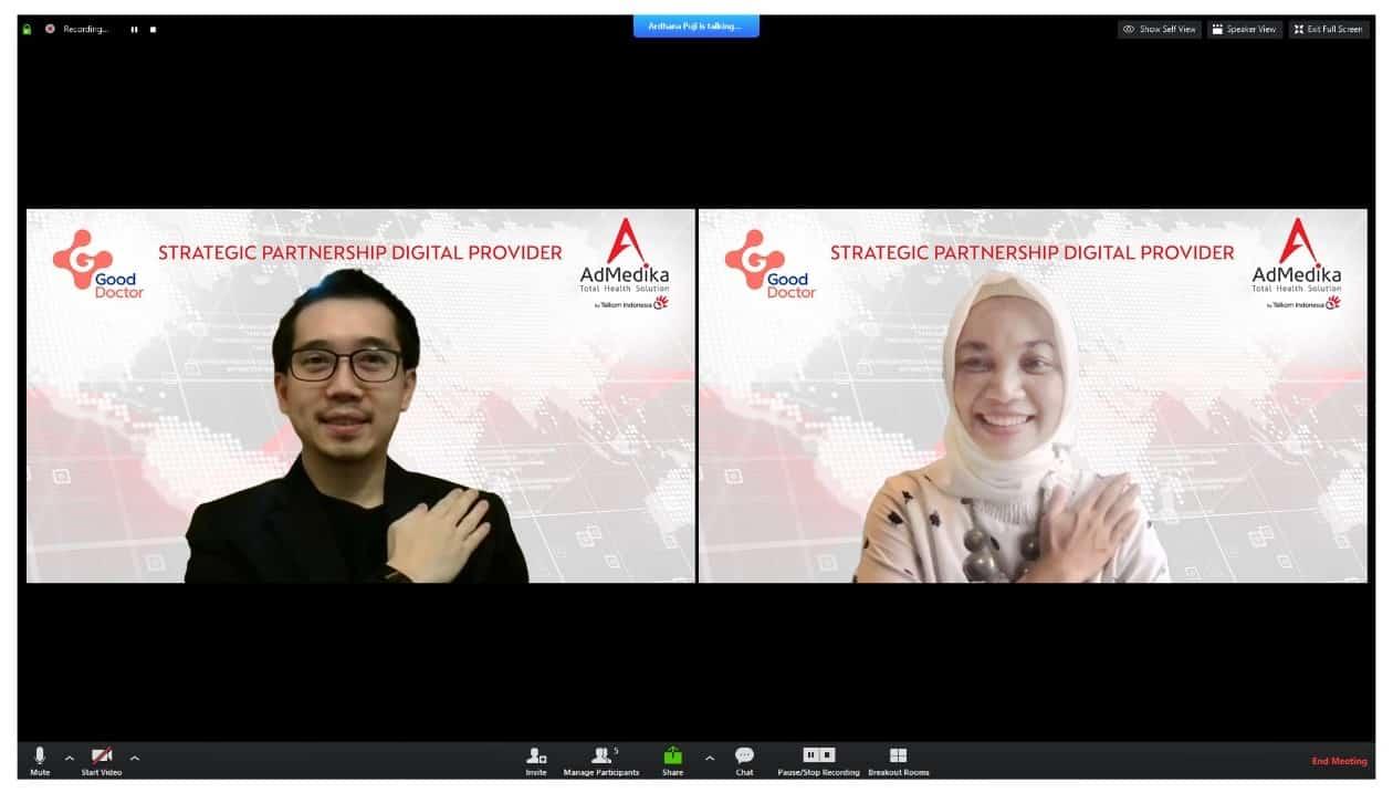 AdMedika Jalin Kerjasama dengan Good Doctor Technology Indonesia