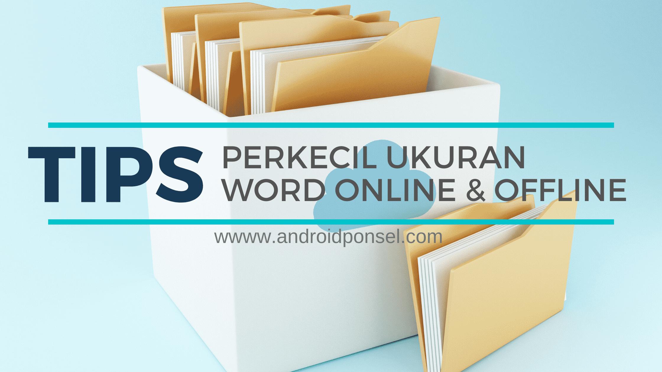 cara cepat kompres file word secara online dan offline