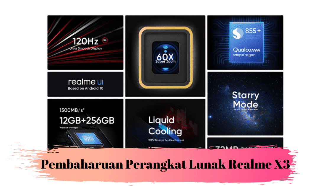 Pembaharuan Perangkat Lunak Realme X3