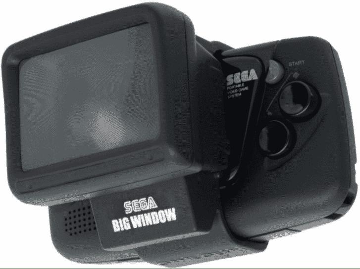 SEGA Big Windows Game Gear Mini