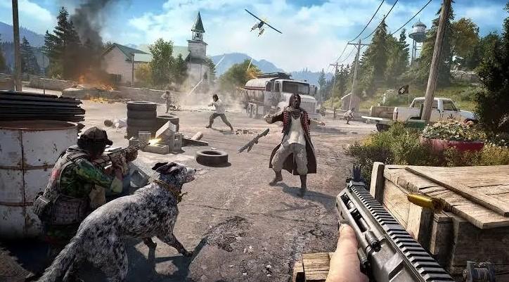game perang online zombie