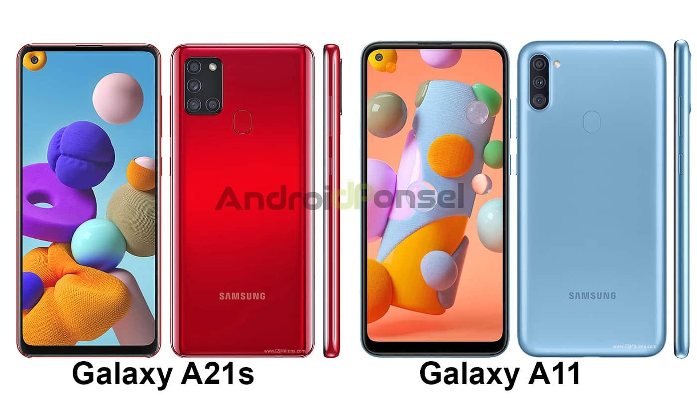 Samsung Galaxy A21s vs A11