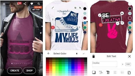 Aplikasi desain membuat baju yayprint