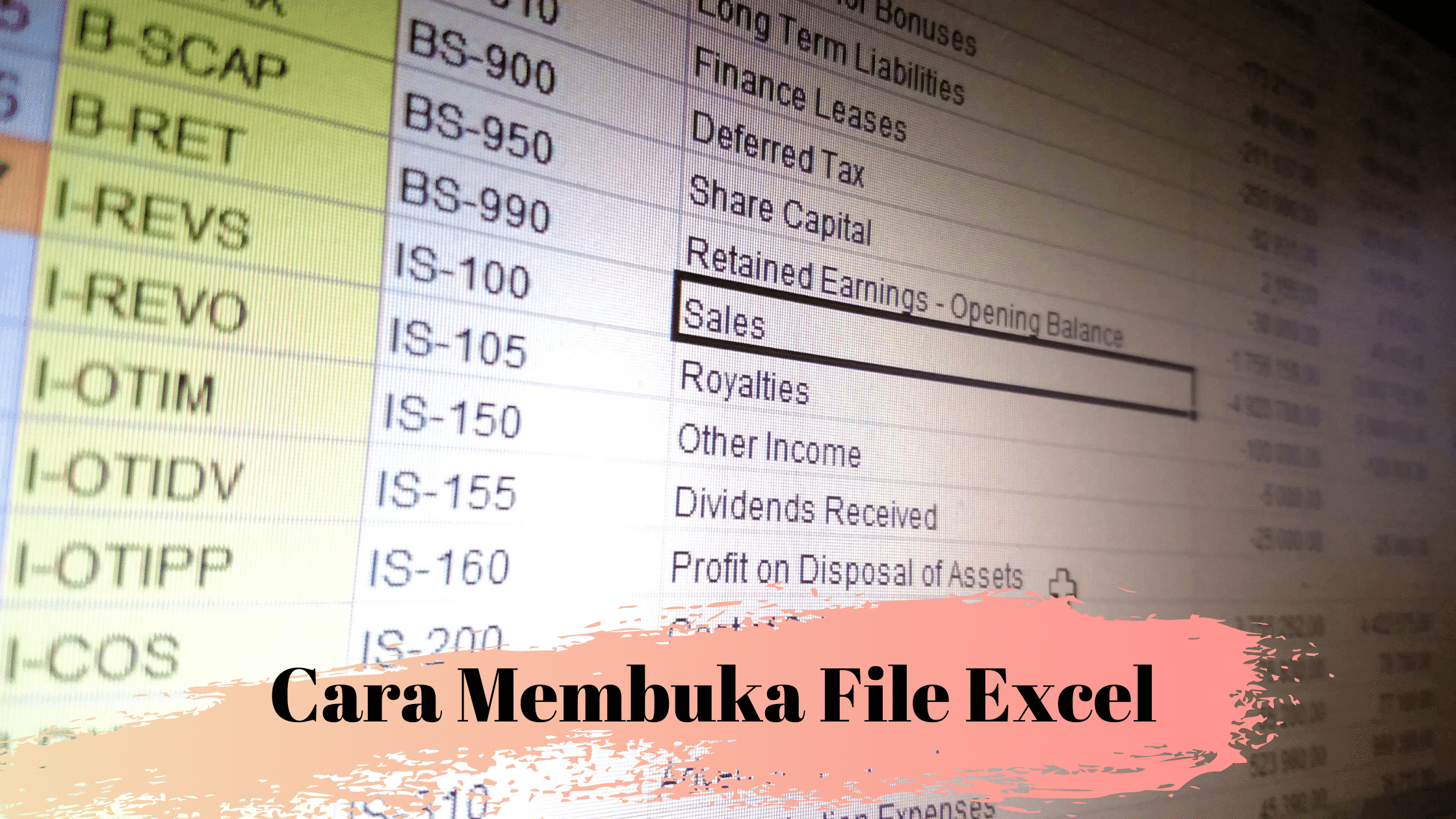 Cara Membuka File Excel