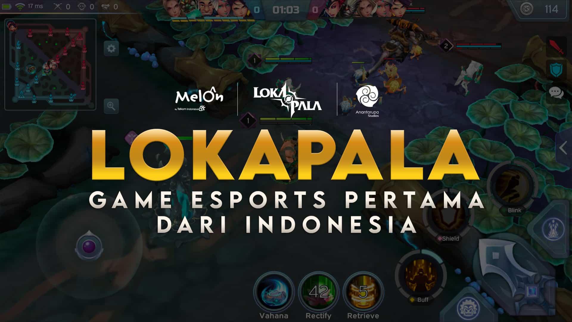 Game MOBA LOKAPALA