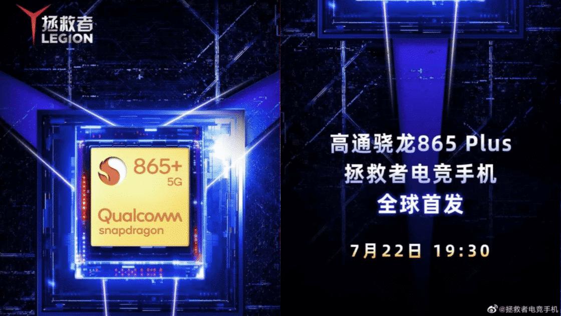 Lenovo Legion Gunakan Snapdragon 865+