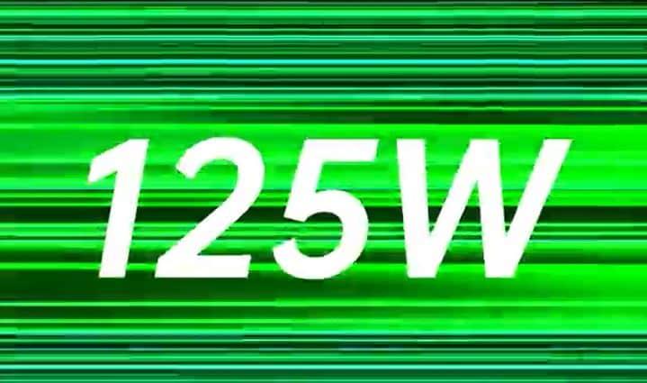 pengisian cepat oppo 125W