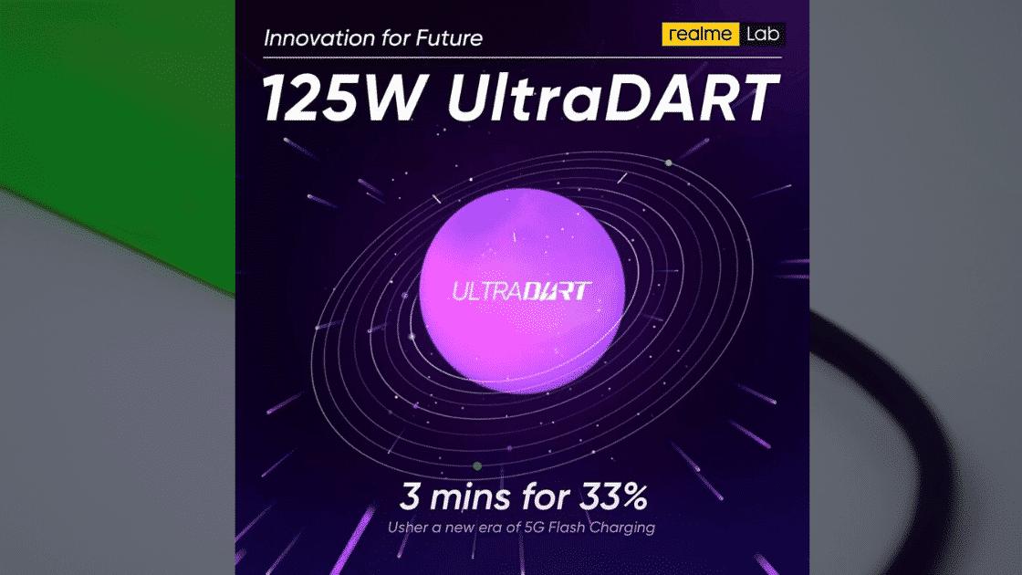 Pengisian cepat Realme 125 UltraDart