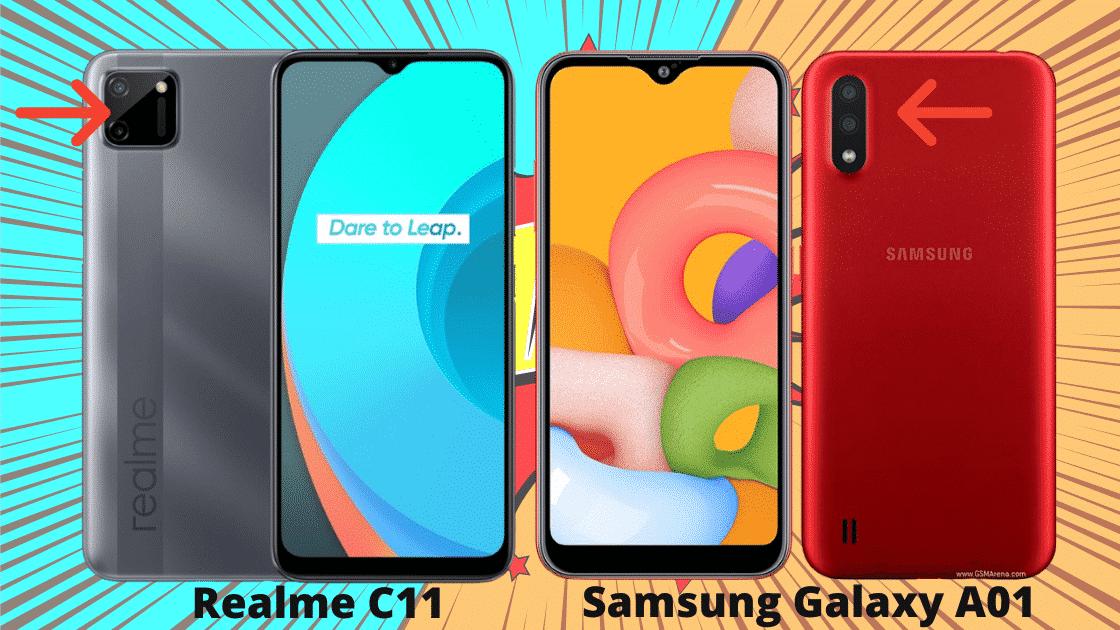 Realme C11 vs Samsung Galaxy A01