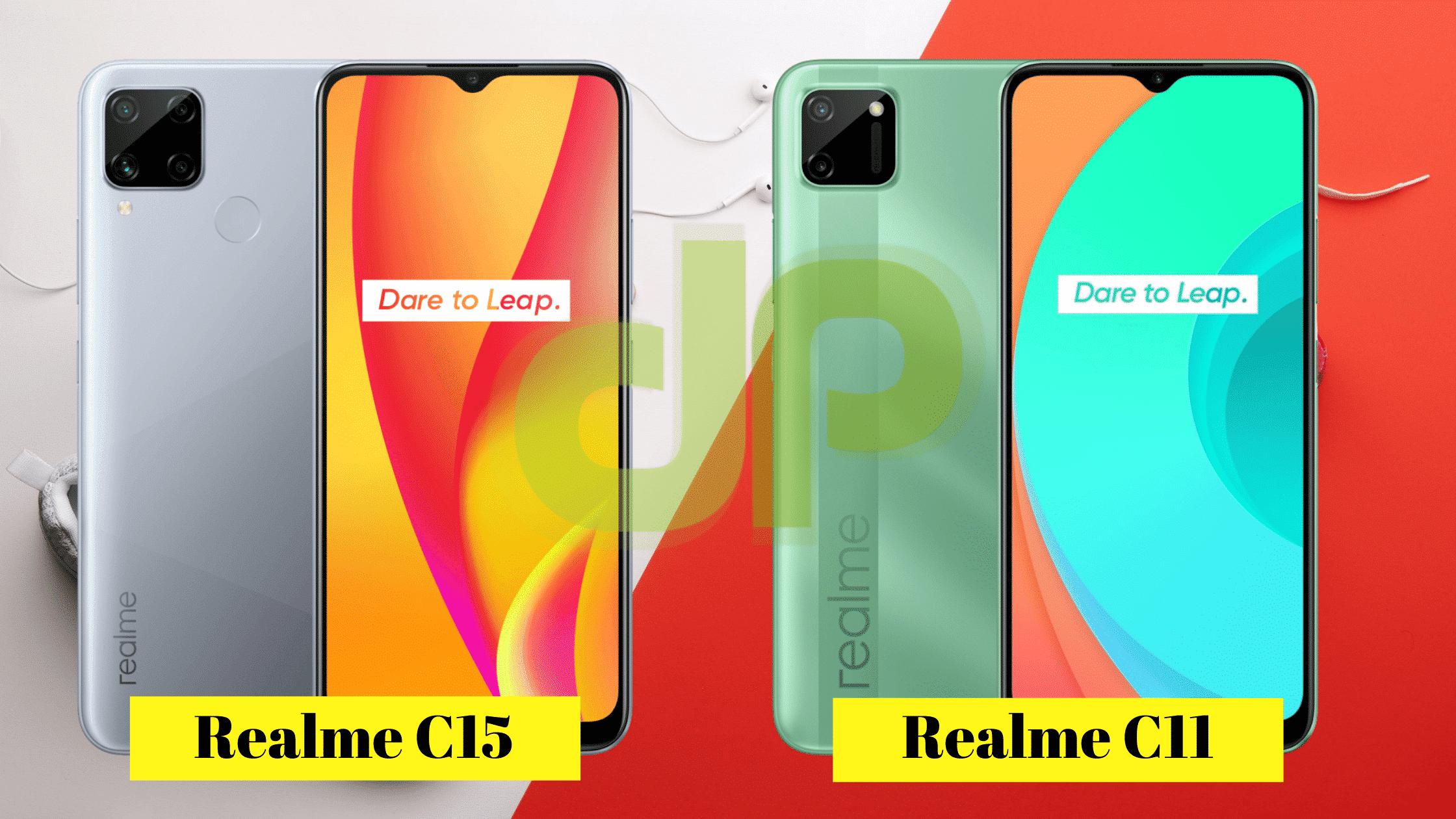 Realme C15 vs Realme C11