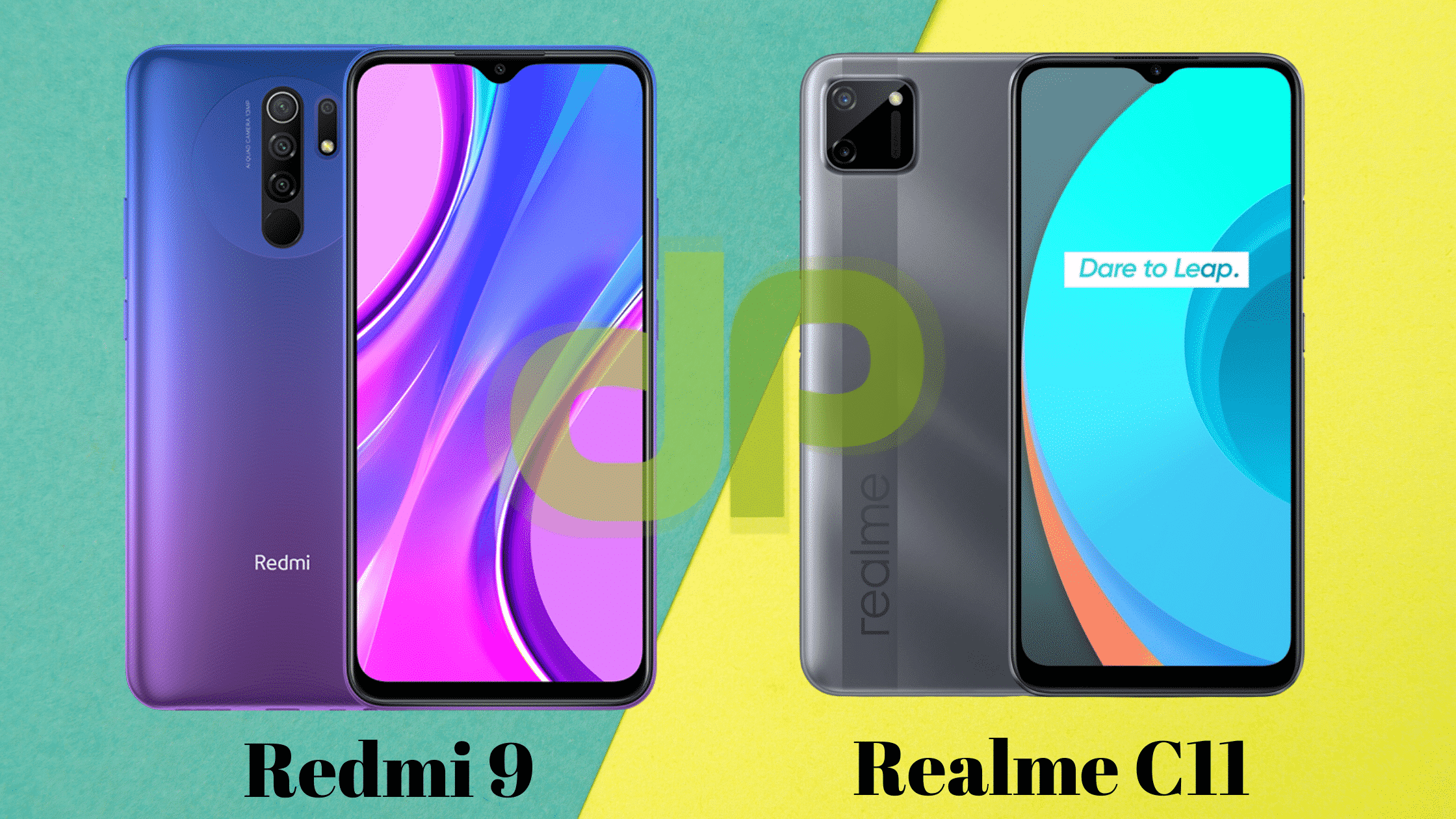 Redmi 9 vs Realme C11